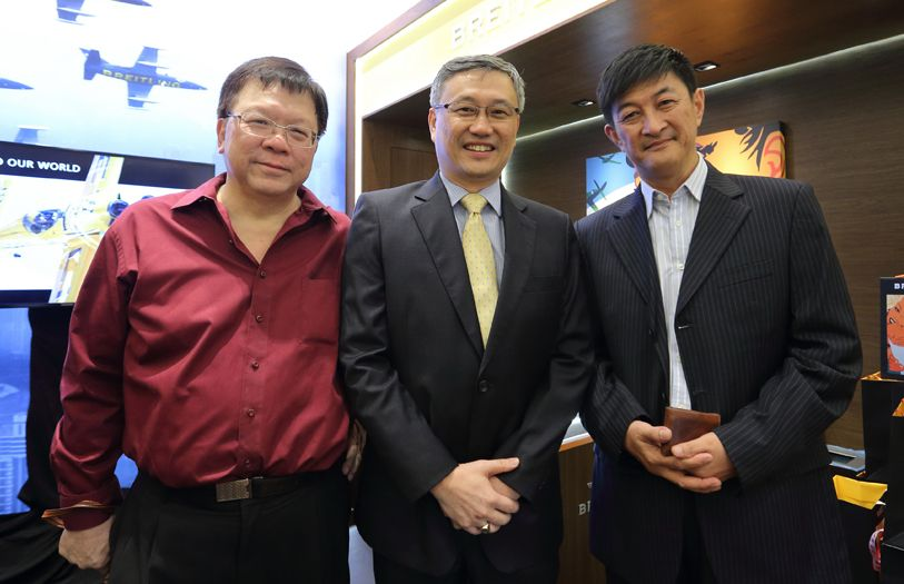 Key Soon Yue, CL Donald Lim and Phoo Swee Hui
