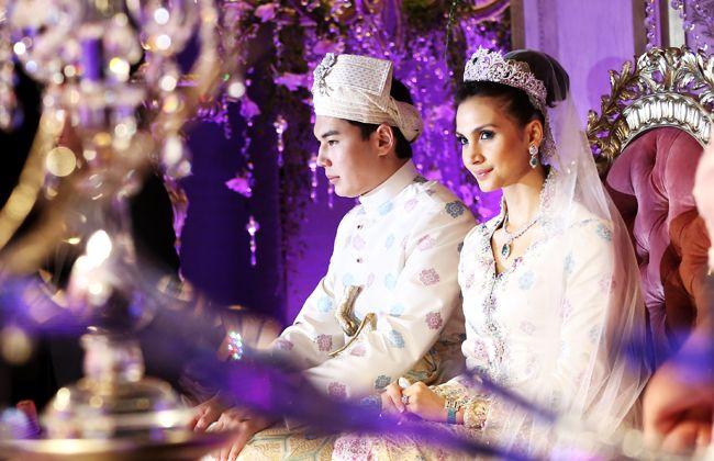 Akad nikah ceremony of Dias Atamkulov and Alia Geneid