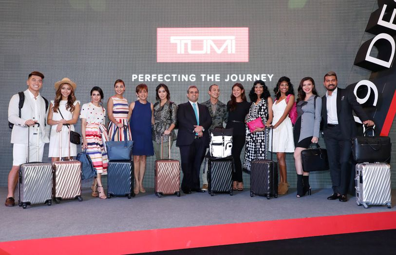 Tumi's Global Citizens at the premier of the new 19 Degree collection