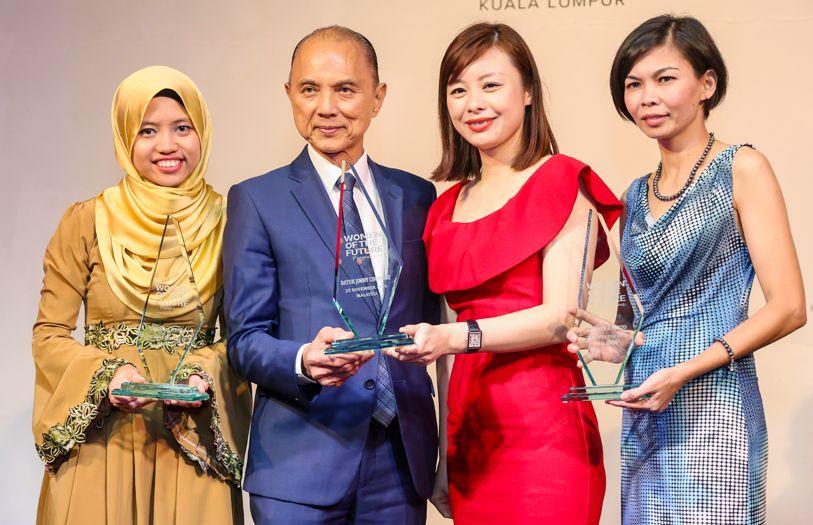 Firdaus Husni, Datuk Jimmy Choo, Illiza Ho and Yasmin Rasyid