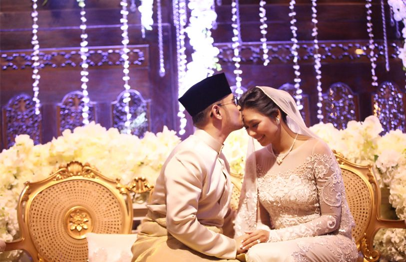 Arif Zikri Azizi and Zaida Ibrahim