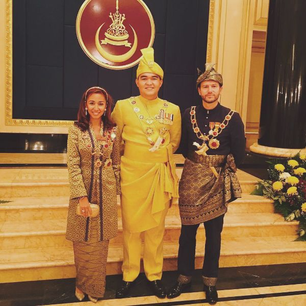 Tengku Amir Shah, the youngest and only son of HRH Sultan Sharafuddin Idris Shah of Selangor, was officially installed as the Raja Muda of Selangor on Saturday. (Photo: @zatashah)