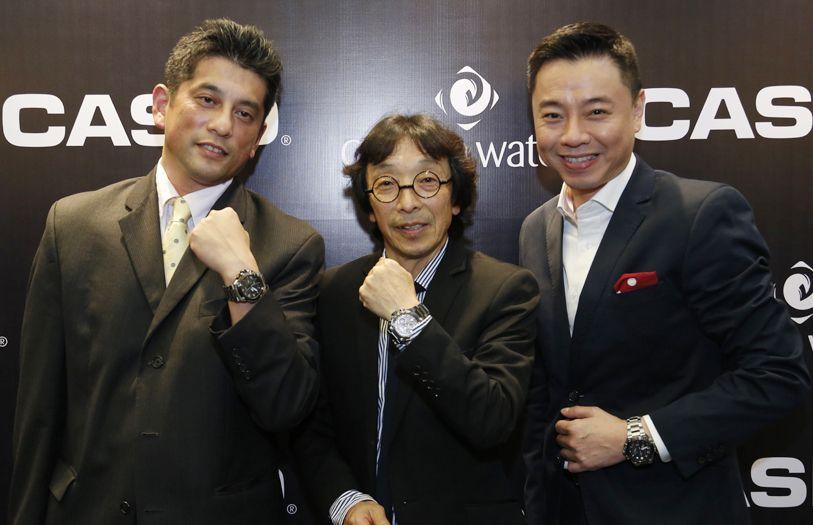 Hiroyuki Sezai, Kikuo Ibe and Tay Liam Khoon