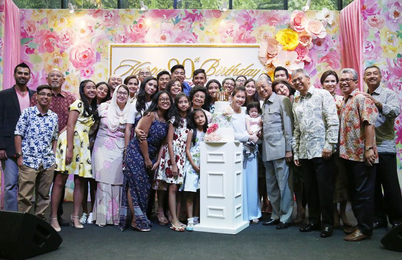 Tun Dr Siti Hasmah recently celebrated a glorious 90th birthday surrounded by all the love of her family.