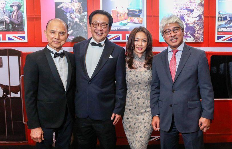 Dato' Jimmy Choo, Tan Sri Francis Yeoh, Michele Liew and Dato' Wan Hashim Wan Jusuh