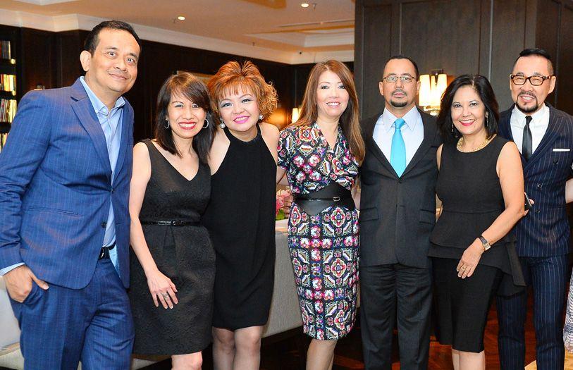 Jamaludin Zakaria, Wan Marina Tunku Mohd Jamil, Lily Tan, Lee Jim Leng, Datuk Syed Izuan Jamalullail, Alice Yong and Datuk Kelvin Tan