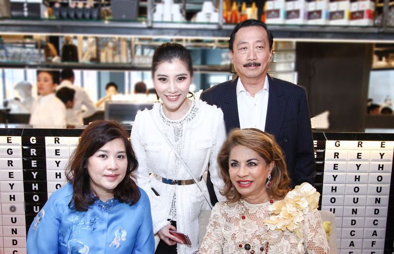 Puan Sri Esther Tan, Chryseis Tan, Tan Sri Vincent Tan and HRH Sultanah Kalsom Abdullah