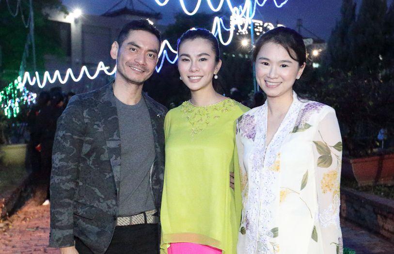 Datuk Jared Lim, Datin Dian Lee and Dianna Lee
