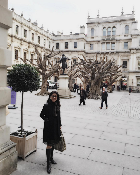 Soo Shea Pin visited the Royal Academy of Arts in London for Ai Wei Wei's art exhibition. (Photo: @soosheapin)