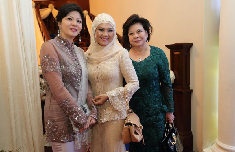 Che Puan Datin Winnie Low, Toh Puan Suzanna and Puan Sri Dato' Molly Low