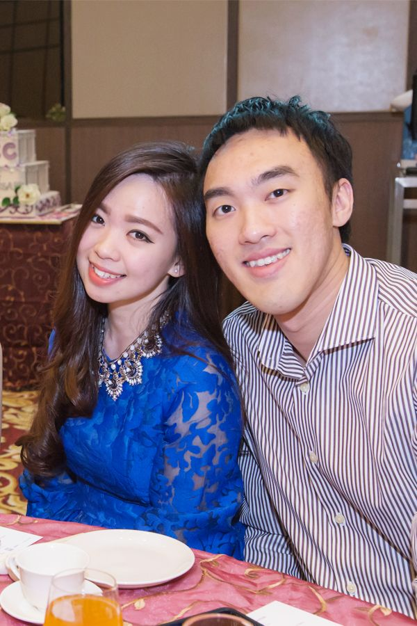 Marlene Ong and Adrian Lim