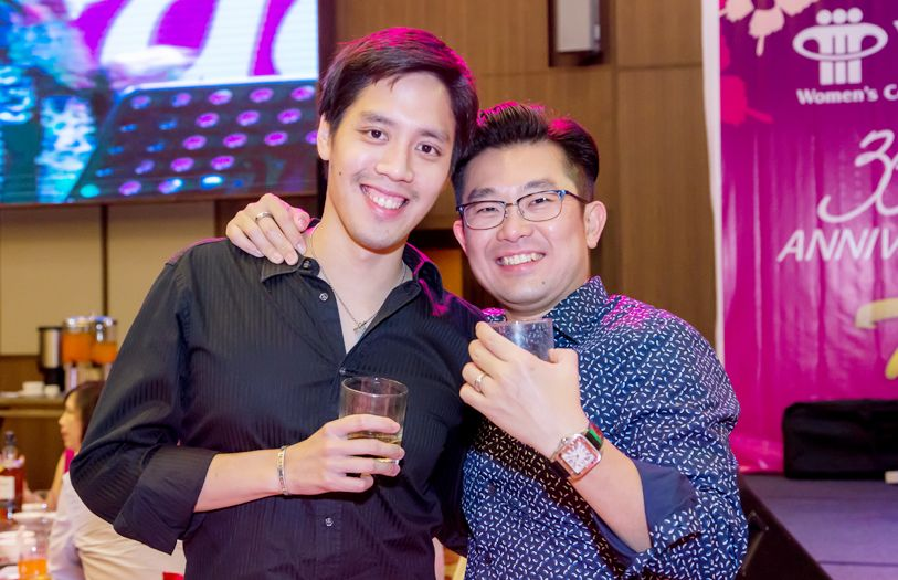 Melvin Lim and Ooi Kean Lee