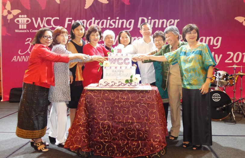 The Women's Centre for Change (WCC) Penang celebrated its 30th anniversary with a fundraising dinner that saw 700 guests show up in attendance.