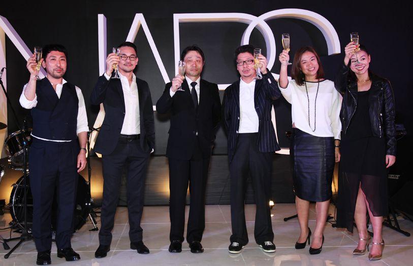 Sadafumi Ito, Desmond Teh, Kuninori Ueno, Nicholas Tan, Jesz Loo and Tan Ai Lee