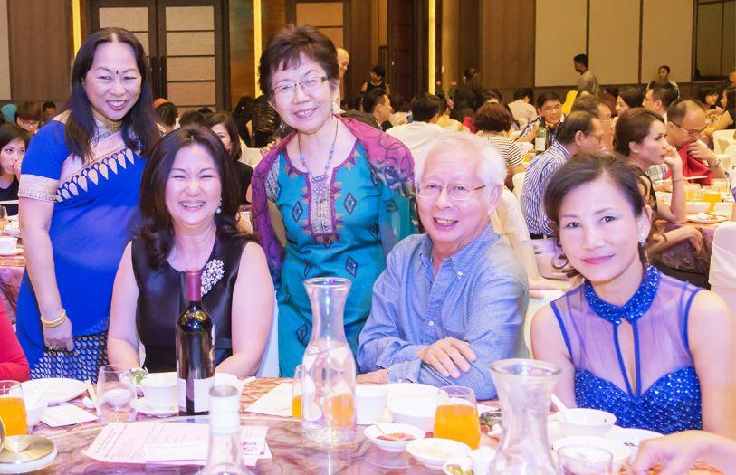 Lalitha Menon, Dato' Ruby Khong, Susan Siew, Choo Kean Hin and Emma Yong
