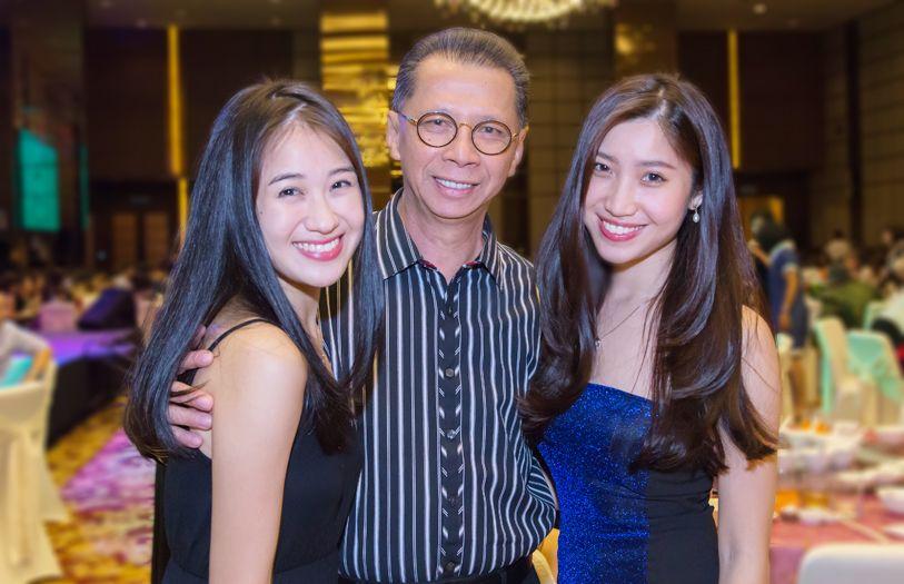 Pang Yi Jia, Dato' Sim Ah Chye and Pang Yi Yun
