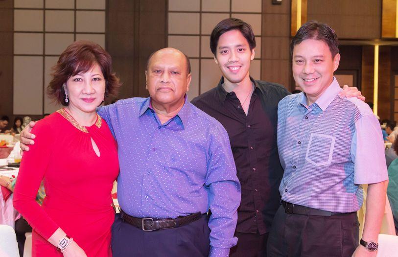 Datin Annie Chin, Dato' Seri Nazir Ariff, Melvin Lim and Christopher Looi