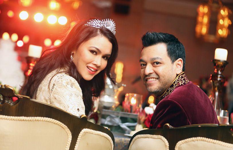 Che Puan Sarimah Ibrahim and Tunku Jamie Nadzimuddin