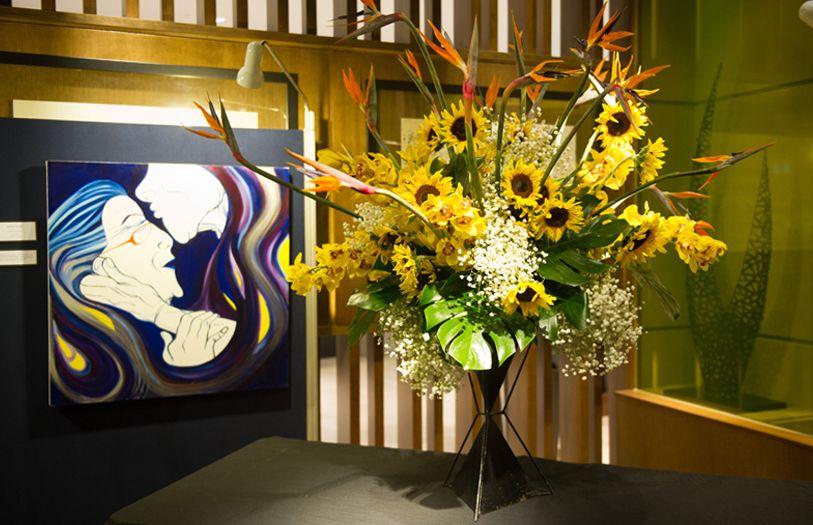 Floral arrangements by Shogo Kariyazaki