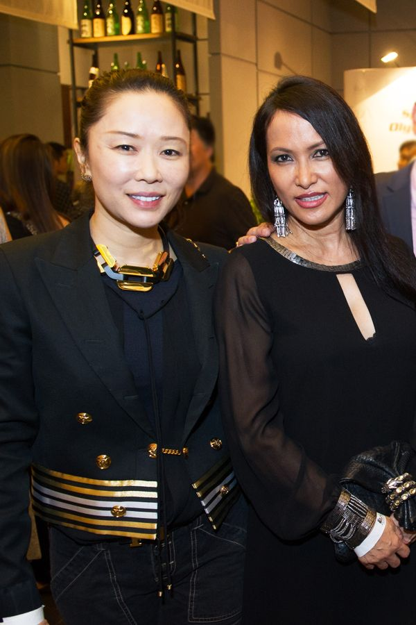 Shawna Yap and Christine Leveille