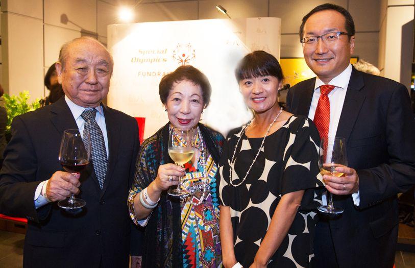 (L-R) Jibiki Kato, Tokiko Kato, Kumiko Yokoyama and Takashi Yokoyama