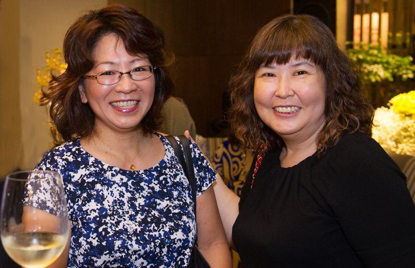 Kyoko Okubo and Ann Koh