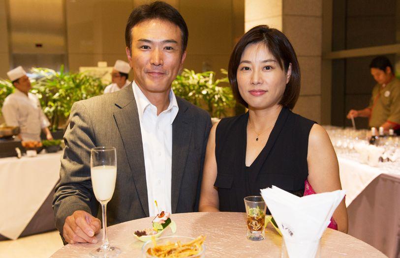 Hirokazu Mori and Sachiko Mori