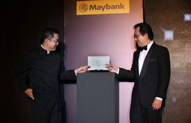 President of American Express, YC Koh and CEO of Maybank Datuk Abdul Farid Alias