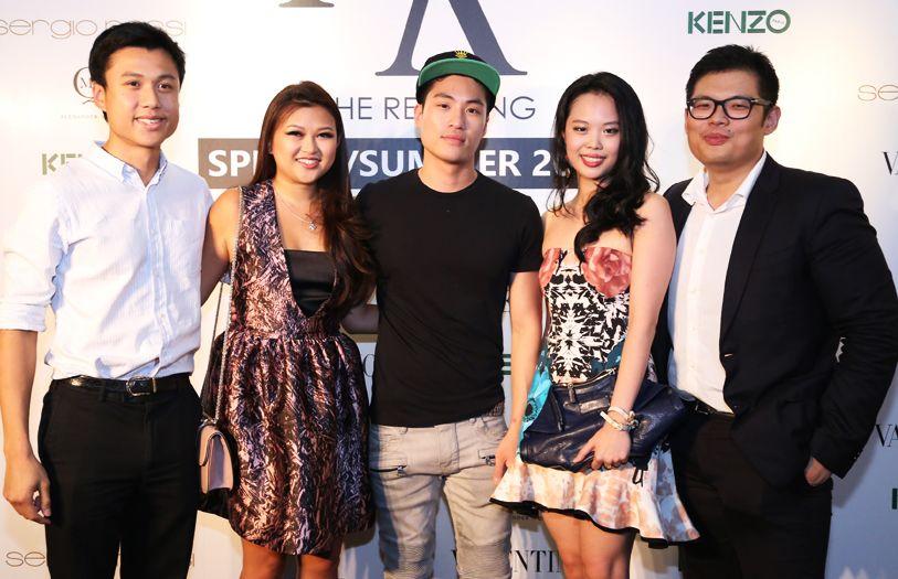 (L-R) Joshua Yeoh; Director of Niche Retailing, Yeoh Pei Nee; Loui Lim; Yap Po Leen and Jeremiah Tan
