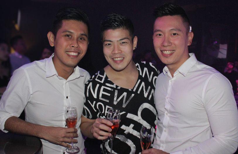 Terry Chong, Alan Yee and Eric Yap