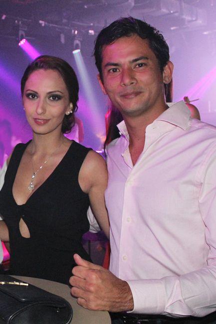 Emitsa Shirazi and Alex Yoong