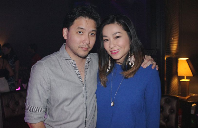 Lionel Goonting and Eileen Tan