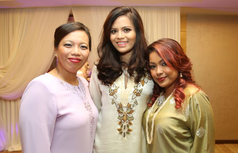 (L-R) Joanna Lee, Charlene Wong and Chevonne Hassan