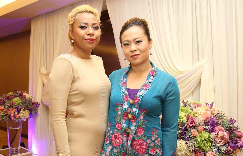Maria Ashiquin and Jessica Tan