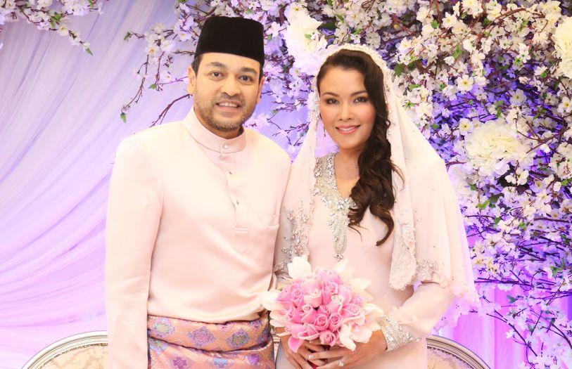 Tunku Jamie Nadzimuddin and Sarimah Ibrahim