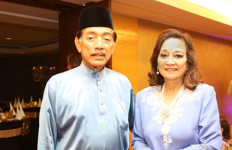 Tunku Datuk Mudzaffar and Tunku Dara Naquiah