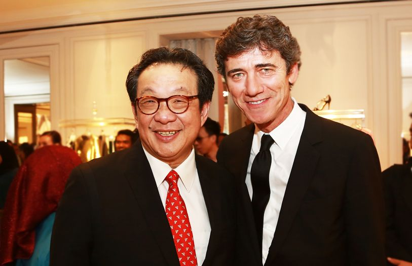 Tan Sri Francis Yeoh and Regional Managing Director of Asia Pacific Dior, Diego Menarin