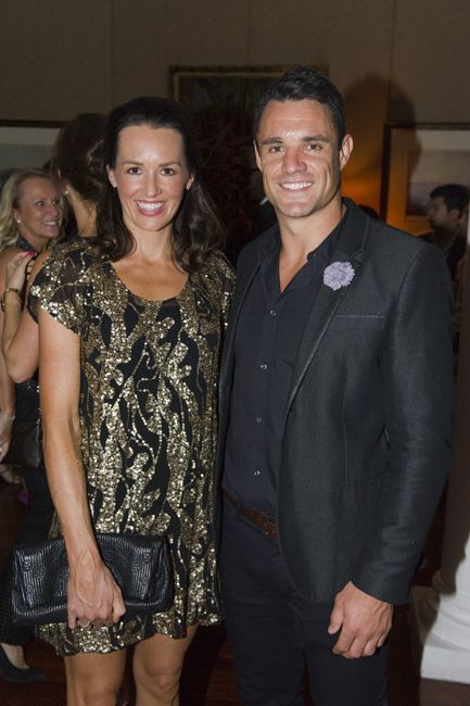 Honor and Dan Carter, New Zealand All Blacks rugby player