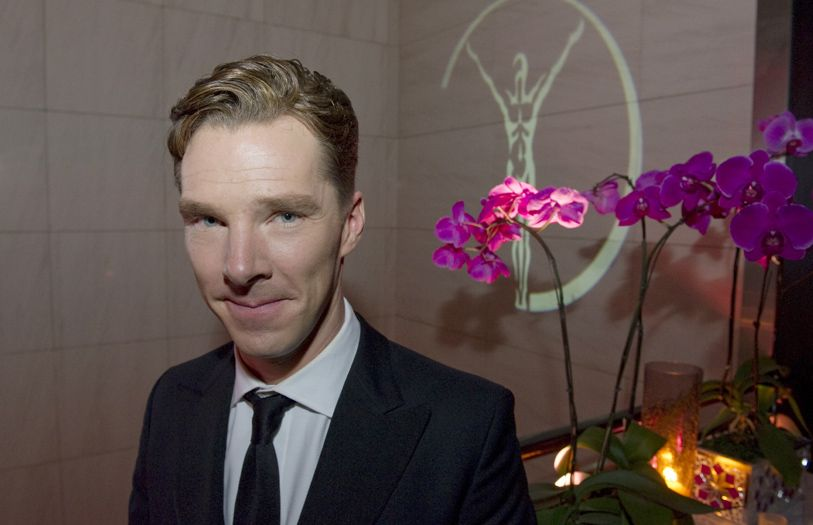 Actor Benedict Cumberbatch at the 2014 Laureus World Sports Award welcome party