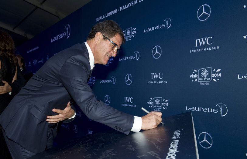 Fabio Capello, former professional football player and current Italian football manager