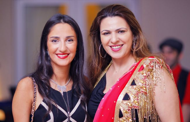 Jennifer Afaki and Sabah Bakhache