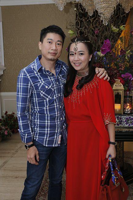 Salim Teh and Hana Lai