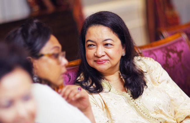 Datuk Raziah Mahmud-Geneid's 'Arabian Night' birthday ...