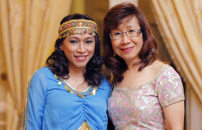 Syarlina Aziz and Managing Director of Malaysia Tatler, Florence Fang