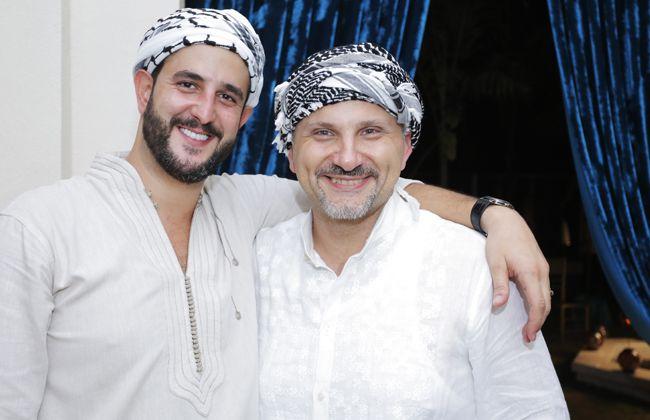 Joseph Afaki and Antoine Bakhache