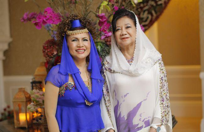 Datuk Raziah Mahmud-Geneid and Datin Paduka Dr Faridah Abdullah