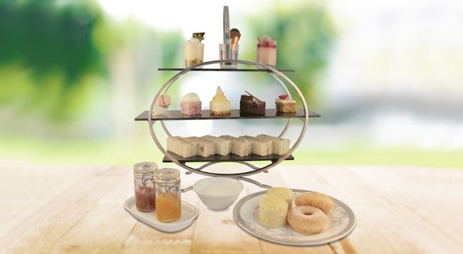 Afternoon tea gets organic at The Chateau