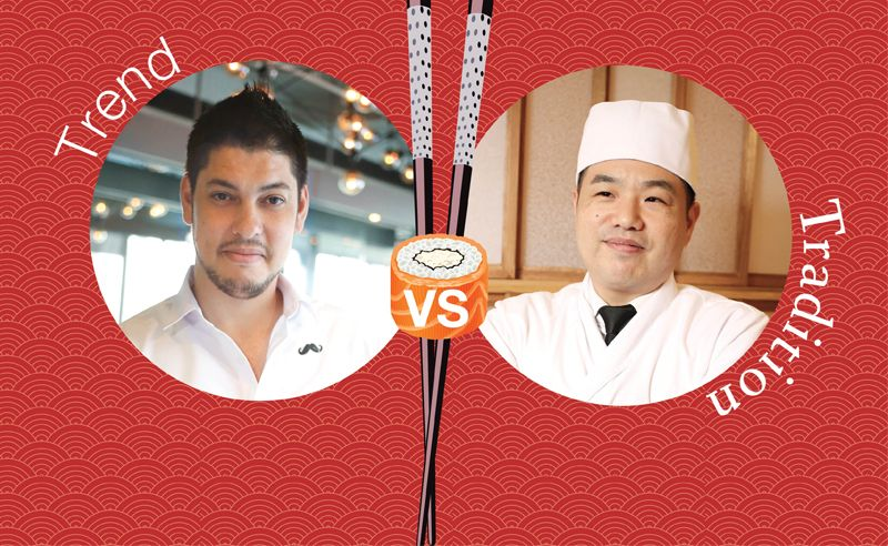 Two Japanese Michelin Star Chefs Talk Trend Versus Tradition