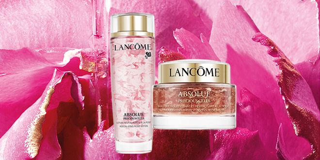 Lancôme's New Rose-Infused Mask And Lotion Are The Ultimate Indulgence