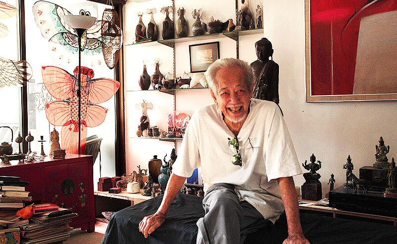An 88-Year-Old Malaysian Artist Teaches Us The True Embodiment Of The Art Of Living
